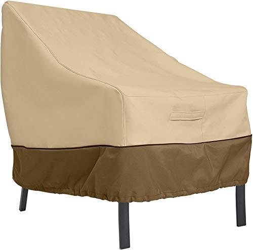 BPK Veranda Housse de chaise longue pour patio/club Taille L, Taille L
