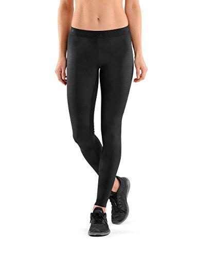 Skins Sport-Leggings für Damen, lang Medium schwarz/schwarz