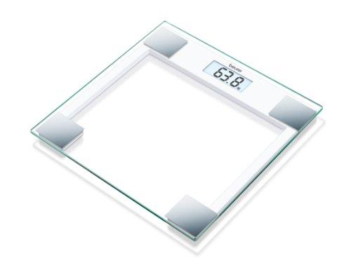 Beurer GS 14 - Báscula de baño de vidrio, vidrio de seguri