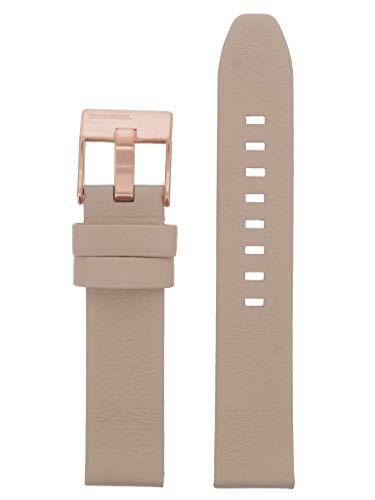 Correa para reloj Diesel LB-DZ5572, correa de repuesto DZ5572, de piel, 18 mm, color rosa