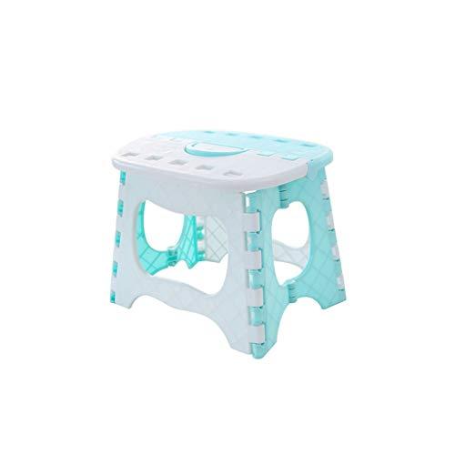 Tabouret d'extérieur, chaise de chargement de voiture de plastique de couleur de pli en plastique petit banc salon lu petite hauteur de tabouret de banc de banc 19CM