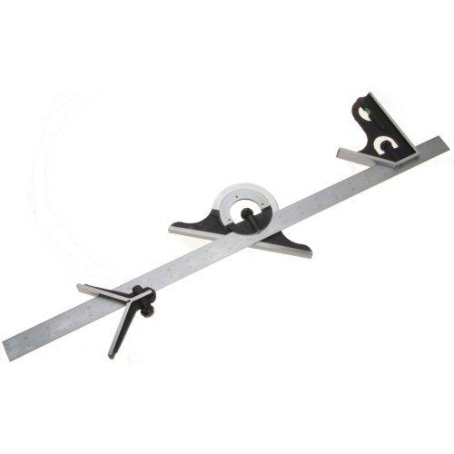 iGaging Combination Square Premium 4-Piece 24' 4R Protractor...