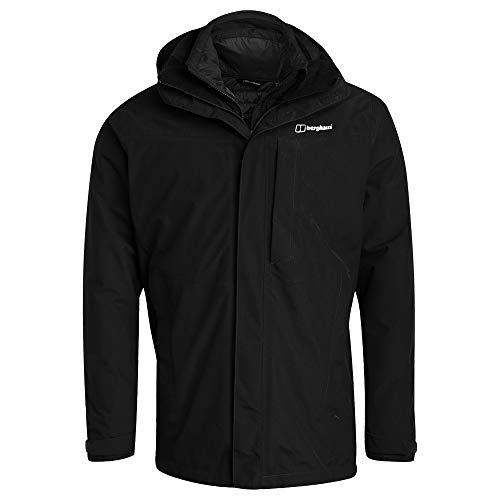 berghaus Limited Hillwalker Long HL 3in1 Jacket Men Größe M Black/Black