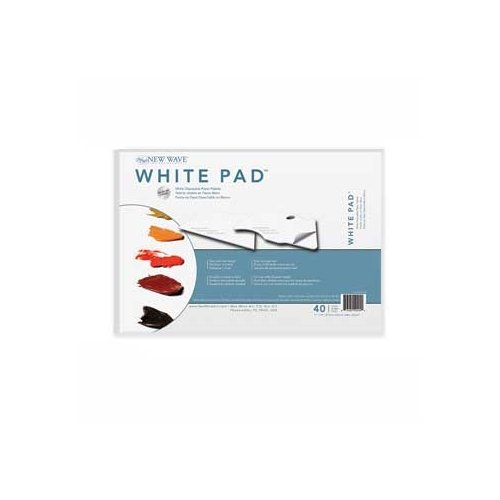 New Wave Palette, Rectangle, 11 x 16 inches, 40 Sheets of White Paper (00404)
