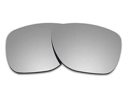 COLOR STAY LENSES 2.0mm Thickness Polarized Replacement Lenses for Oakley Crossrange XL OO9360 (Black)