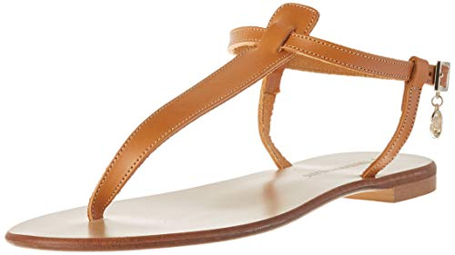 Trussardi Jeans Sandal Flat ECOLEATHER, Ciabatte Donna, B660, 37
