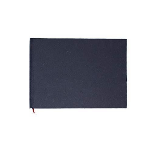 Artway 2302858 Indigo Casebound Handgefertigtes Skizzenbuch, Paper, A5-Querformat