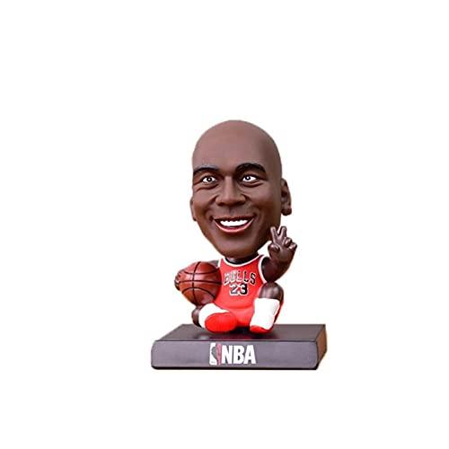HCKLYTN Mini Michael Jordan NBA Toy Toy Figure Exquisite Embalaje Figura Decoración Regalos de Pascua P