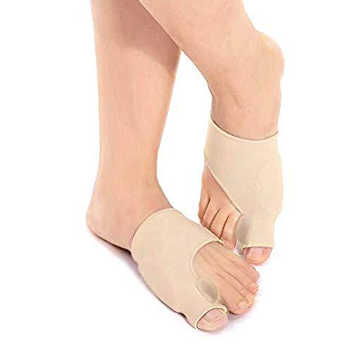 Hallux Valgus Korrektur Bandage für Schmerzlinderung, Bunion Sleeve mit Gel-Pad Schutz und Zehenspreizer für Hammerzehen-Stärke, Ballenzehen, Bunion Socke für Tag und Nacht Verwenden