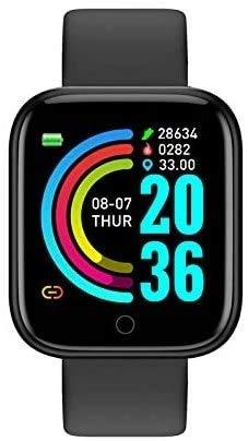 SmartWatch Bluetooth, 1.3 Schermo IP68 pedometro Resistente all'Acqua Smartwatch Remote Fitness Activity Tracker per iPhone Compatibile Samsung Android iOS Apple