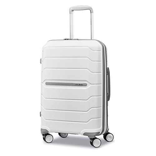 Samsonite Freeform Hardside Expandable with Double Spinner Wheels, White