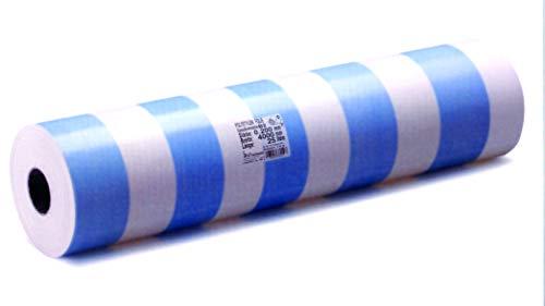 Dampfsperrfolie 0,2 mm, Format 4x25 m, 100 m2 Blau/Weiß. Deutsche Qualitätsfolie mit Zertifikat. Hergestellt in Deutschland.