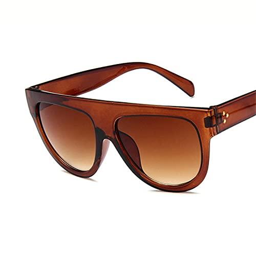 Único Gafas de Sol Sunglasses Gafas De Sol Retro para Mujer Gafas Vintage para Mujer/Hombre Gafas De Sol Grandes para