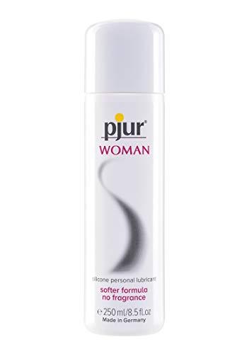 pjur WOMAN - Gleitgel für Frauen auf Silikonbasis - für prickelnden Sex und längeren Spaß - optimal für empfindliche Haut - 1er Pack (1 x 250 ml)