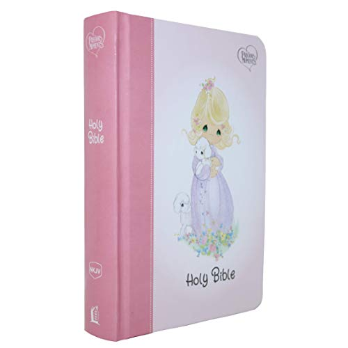 NKJV, Precious Moments Small Hands Bible, Hardcover, Pink, Comfort Print: Holy Bible, New King James Version
