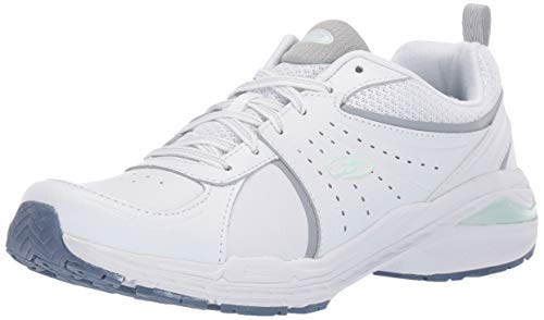 Dr. Scholl's Shoes womens Bound Sneaker, White Action Leather, 10 US