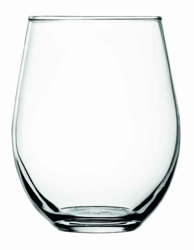 anchor hocking unbreakable wine glasses Anchor Hocking Stemless Red Wine Glasses Kitchen Essentials, 20 Oz