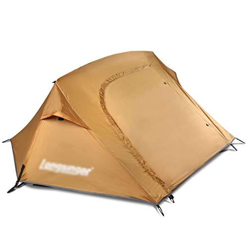 Utilisation multiple Sports de plein air Tente de protection solaire anti-pluie extérieur imperméable respirant coupe-vent en aluminium simple Pôle automatique Camping Camping pliant Équipement d'exté