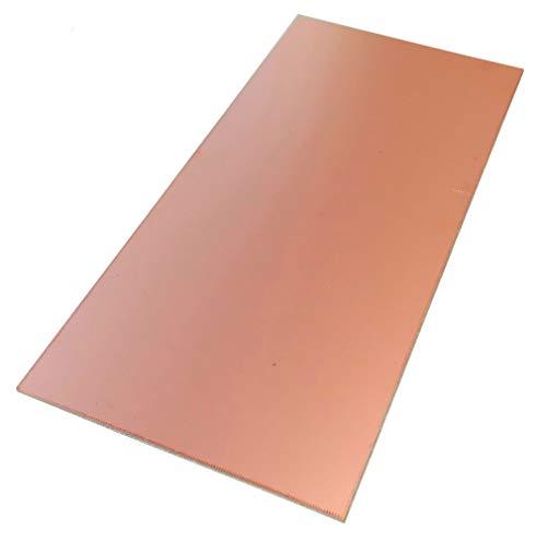 AERZETIX: Piastra foglio di rame per circuito stampato 210/100/1.5mm 18µm resina epossidica fibra di vetro C40707