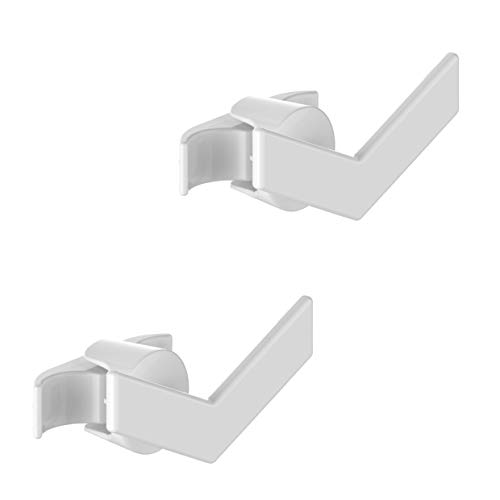 2 Handy minimal buisvormige - handdoekenrek voor meerkleurige buisvormige radiator - ze worden rechtstreeks op de buisvormige radiator bevestigd - Force