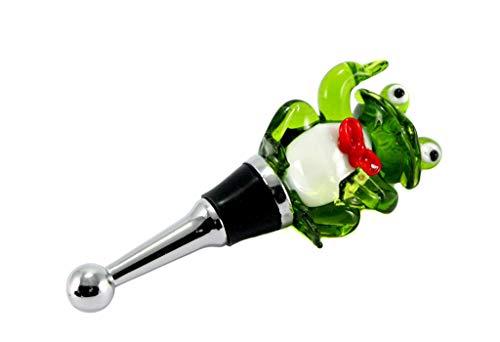 Brillibrum Design Glas Flaschenverschluss Frosch Glaskorken Mit Frosch Figur