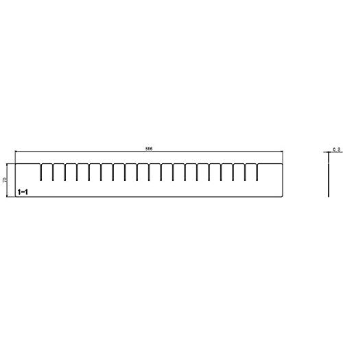 Divider Fit Long-awaited Drawers W Height 2-3 4 Detroit Mall 210416826 in.