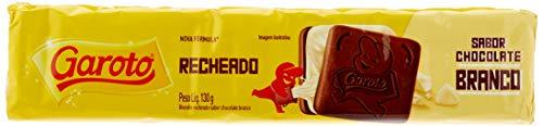 Garoto Biscoito Recheado Chocolate Branco 130g