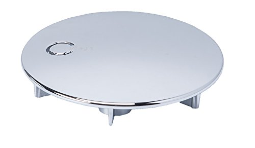 Viega Domoplex Abdeckhaube verchromt Durchmesser 75mm, Modell: 6930.0 passend zu Domoplex 52mm Viega Ablaufgarnitur Senkrecht/Waagerecht
