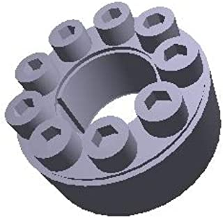 Series C123 Metric Locking Assembly Pack of 3 pcs Climax Metal C123M-65X95