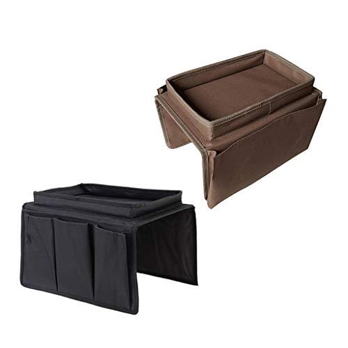 Amuzocity 2pcs Sofá Reclinable Sillón Organizador Bolsillo para Racks Bag