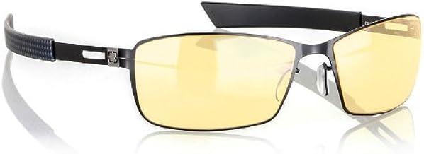 GUNNAR Gaming and Computer Eyewear /Vayper, Amber Tint - Patented Lens, Reduce Digital Eye Strain, Block 65% of Harmful Bl...