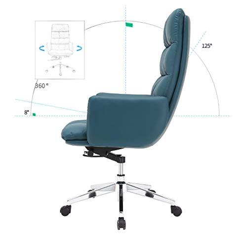 Chefsessel mit doppelter Polsterung | höhenverstellbar | ergonomisch | modern | Bürostuhl Drehstuhl Schreibtischstuhl