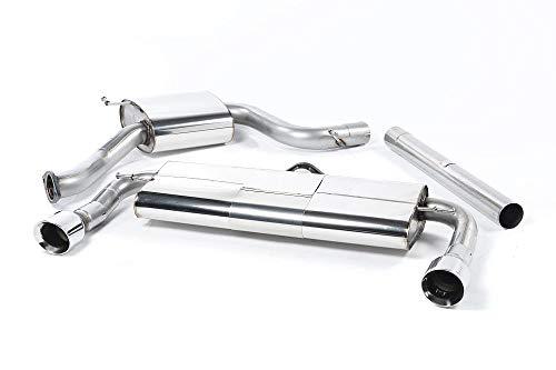 Sport Auspuff Milltek SSXVW225 Anlage ab KAT | DPF (EG/EWG) Kompatibel zu: Golf GTI Performance (169 kW /230 PS) | HSN: 0603 | TSN: BKM | Golf VII GTI (5G) 5-Türer Schrägheck DSG (7-Gang)