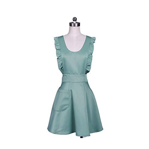 Liutao schorten, Japanse stijl, elegant, zeemeermin, kant, blouse, tas met ruches en duurzaam