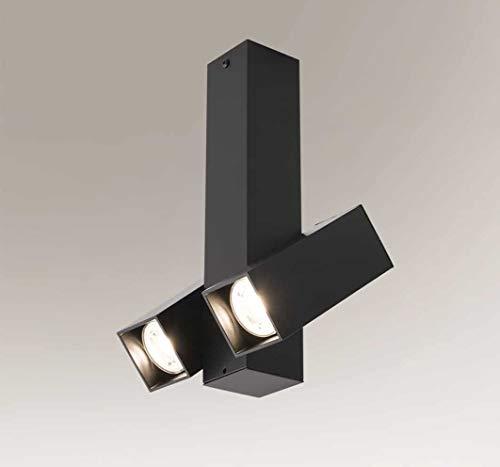 SHILO Mitsuma 7886 - Lámpara de techo (2 x 5 W, GU10, mini IP20)
