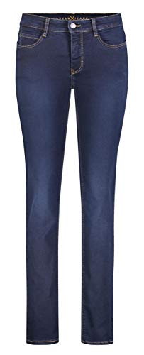 MAC Damen Straight Leg Jeanshose Dream, Blau (Dark Washed D826), W36/L32