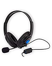 Bedrade headset onder besturing voor PS4 en Xbox One