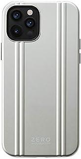 【iPhone12/12 Pro ケース】ZERO HALLIBURTON Hybrid Shockproof Case(Silver)