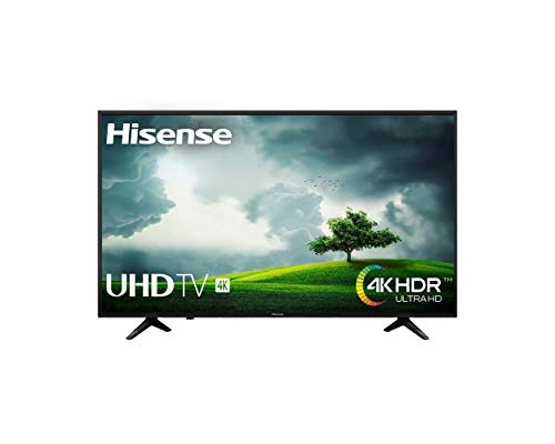 Hisense H55A6100 - TV Hisense 55' 4K, HDR, Smart TV VIDAA U, Super Contraste, Precision Color, Depth Enhanced, Remote Now,...