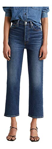 Levi's Women's Ribcage Straight Ankle Jeans, Pick A Draw, 28 (US 6)