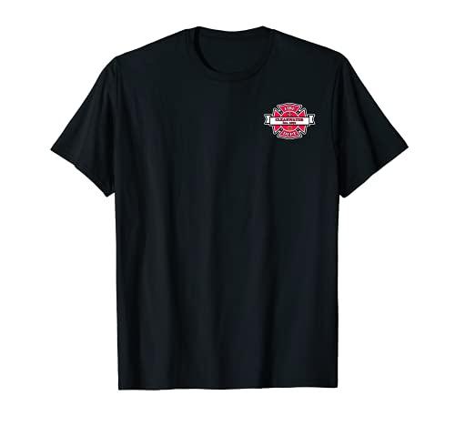EMBLEM DEPARTAMENTO DE INCENDIOS DE FLORIDA CLEARWATER Camiseta
