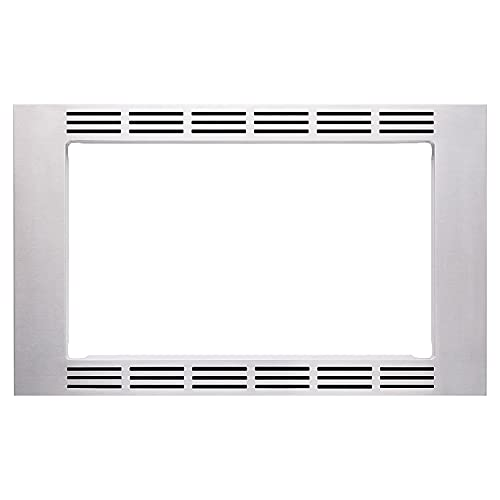 Panasonic 27-inch Trim Kit, Stainless Steel, for use with 1.2 cu ft Microwave Ovens– NN-TK621SS, 1.2cft