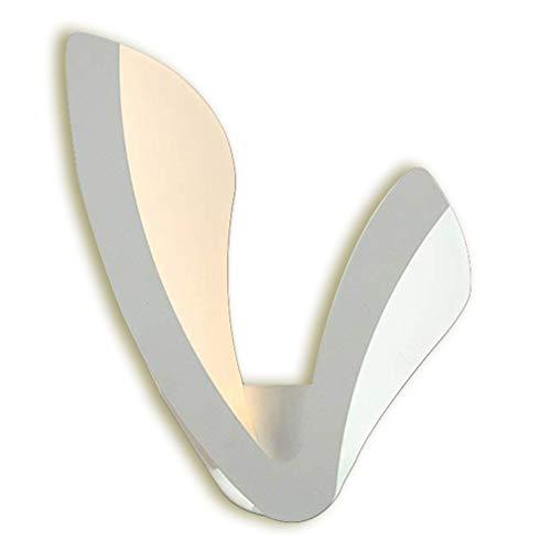22W LED Applique Mur Spotlight Moderne V Forme Design Lampe Murale Lampe de Chevet Creative Métal Acrylique Intérieur Éclairage Décoratif Éclairage Murale Chambre Cuisine Balcon Hallway Lumière Chaude