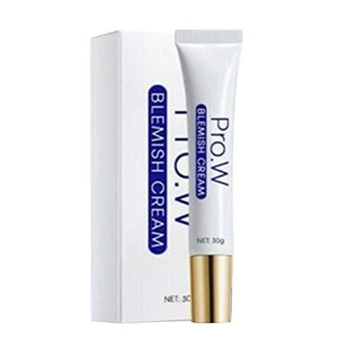 Whitening Cream   Pro.W Blemish Cream   Anti Blemish, Sommersprossen Creme, Flecken Creme, Aufhellende Creme für Hautpflege Moisturizing Shrink Pores Whitening Cream