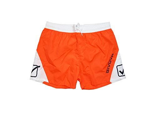Givova Costume da Bagno Uomo Colori in Contrasto Boxer Mare in Nylon 4556V