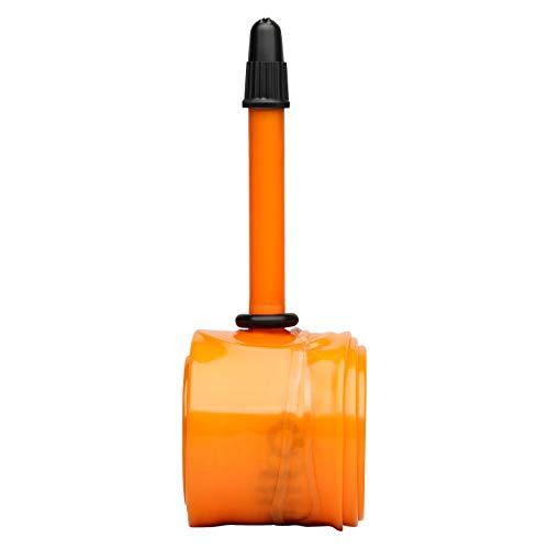 TuboLITO S-Tubo-Carretera, 700 C, válvula 42 mm, cámara de Aire Mixta, Adulto, Naranja