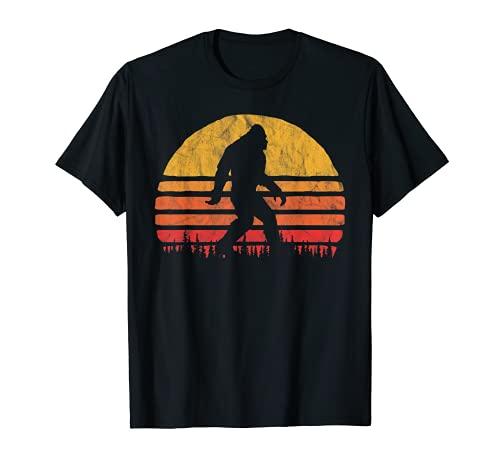 Retro Bigfoot Silhouette Sun Believe! Original 80's Graphic T-Shirt