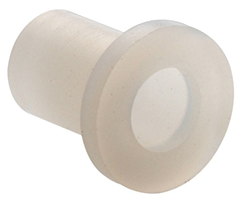 The Hillman Group 58068 0.312 O.D. Nylon Flanged Bushing, Numer- 1/4, 30-Pack,White