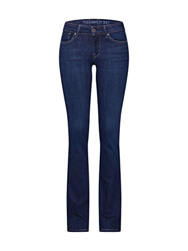 Pepe Jeans Damen Jeans Piccadilly Blue Denim 29