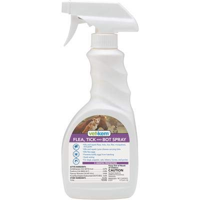Vet-Kem Ovitrol Flea, Tick & Bot Spray 16 oz
